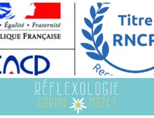 Réflexologue certifiée au RNCP…ça veut dire quoi?
